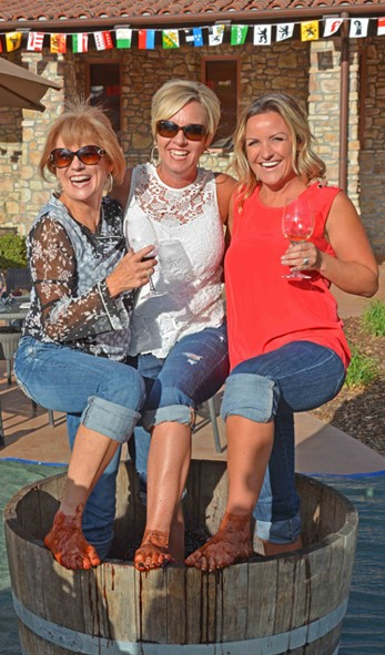 Vina Robles Grape Stomp