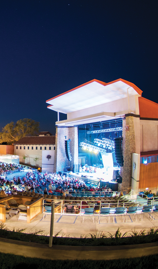 Vina Robles Amphitheatre during a show
