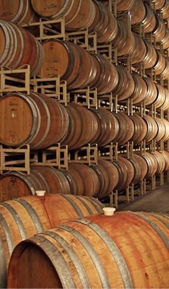 Vina Robles Wine Barrels