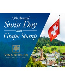 13th Annual Swiss Day & Grape Stomp