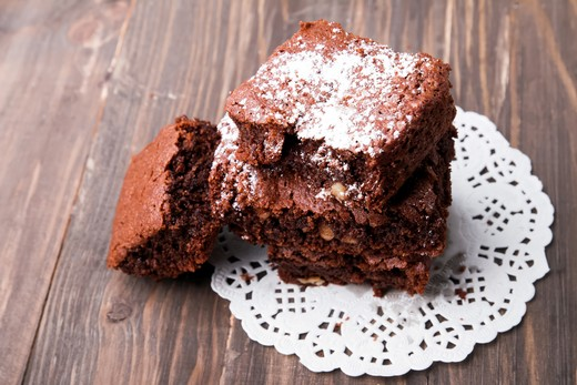 Lavender-Chocolate Brownies