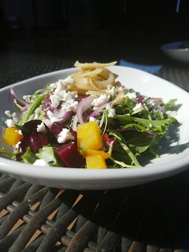 Roasted Beet & Caramelized Fennel Salad