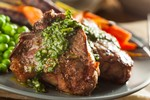 Braised Pork Shanks with Chimichurri